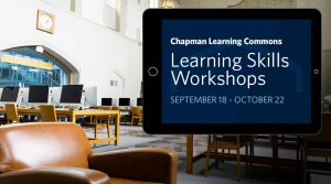 Learning Skills Workshops