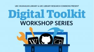 Digital Toolkit Workshop Series