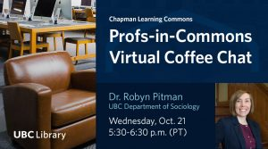 Prof-in-Commons Virtual Coffee Chat
