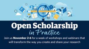 Open Scholarship in Practice 2020