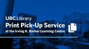 Print Pick-up Service