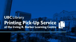 Printing Pick-up Service