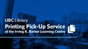 Printing Pick-up Service