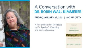A Conversation with Dr. Robin Wall Kimmerer