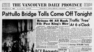 UBC Library has acquired access to the digital archives of The Province newspaper