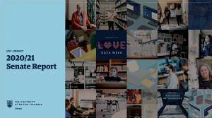 UBC Library 2020/21 Senate Report