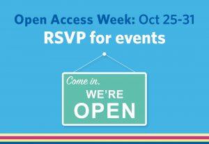 Open Access Week runs October 25-31